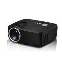 фильм hd оптовых-GP70 проектор HD LED HDMI USB видео цифровой домашний кинотеатр портативный HDMI USB LCD DLP фильм Pico LED мини-проектор