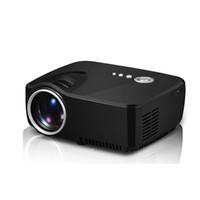 ingrosso hd filmati-Proiettore GP70 HD LED HDMI USB Video Home Theater digitale Portatile HDMI USB LCD DLP Film Pico LED Mini proiettore