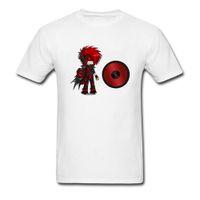 bob marley baskı pamuk toptan satış-Popüler Serin T Shirt Genç Öğrenci DJ Bob Marley Karikatür Baskı Desenler T-Shirt Slim Fit Pamuk Hiçbir Cep Anime Tshirt