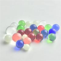 ingrosso inserti di tallone-Nuovo quarzo terp perla inserto luminoso 8mm quarzo terp perla pallina di vetro perline terp perle con trasparente rosso verde blu per quarzo banger