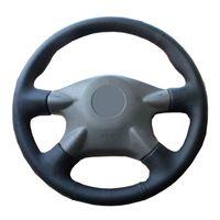 рулевое колесо renault оптовых-Оплетки рулевого колеса для Ниссан Альмера N16 Следопыт примера XTrail 2001-2006 Рено Samsung см3/заказ крышки рулевой