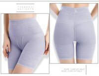 calcinha de plástico para mulheres venda por atacado-Mulheres pós-parto shapers ultrafinos ventilar abdômen em cintura plástica levantar os quadris sem traços de cintura alta calcinha de segurança