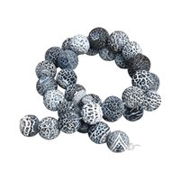 contas de pedras de ônix colares venda por atacado-Natural Resistência Preto Ônix Pedra 8/10 / 12mm Rodada Solta Spacer Beads Para Colar Pulseira Fazer Jóias 40 cm / strand F3160