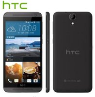 telefon 2gb koç dhl toptan satış-Yenilenmiş kilidi HTC ONE E9 E9W 4G LTE Çift SIM 5.5 inç Sekiz Çekirdekli 2 GB RAM 16 GB ROM 13MP Kamera Androd Akıllı Telefon Ücretsiz DHL 1 adet