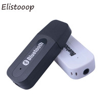 usb 3.5mm adaptör toptan satış-USB Bluetooth Aux Kablosuz Taşınabilir Mini Araba Bluetooth Müzik Ses Alıcı Adaptörü iPhone Android telefonlar için 3.5mm Stereo Ses
