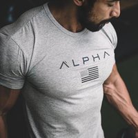 Wholesale wholesale hipster clothes - Summer Men Fashion coon T-shirt Creative Short Sleeve male Hipster Casual Fitness Crossfit Brand Tee tops clothes