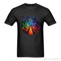 dessins de cou de bande achat en gros de-Cool T Shirts Designs Meilleure vente Muse Casual Band The Resistance Men T-shirts O-Cou