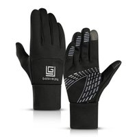 Wholesale touch screen riding skiing outdoor gloves with thin fleece warm Touchscreen For ipad iPhone