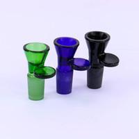 песочные часы оптовых-толстое стекло бонг слайды чаша с ручкой воронка мужские песочные часы 14 мм чаша аксессуары для курения водопровод бонги 18 мм чаши пьянящий слайд
