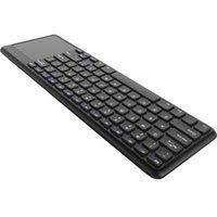 android computer für tv großhandel-2.4G Wireless Keyboard Touchpad Tastaturen Multi-Touch-Ultra-Slim mit USB-Empfänger für Android Smart TV Computer Ladtop Desktop