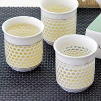 Wholesale European Tea Sets - 5Pcs Teapots Set European Style Hollowed Out Delicate Flower Tea Cups,High Quality Teapot And Cup