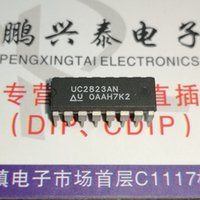 Wholesale electronic speed controllers for sale - UC2823AN UC2823 PDIP16 High Speed PWM Controller integrated circuits ICs dual in line pins dip plastic package Electronic Component