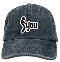 Wholesale red profile - pzx@ Classic Denim Fuck You Adjustable Baseball Cap Dad Hat Low Profile Perfect For Outdoor