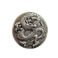 fivelas de cinto de dragão de prata venda por atacado-New Vintage Prata Banhado A Fivela De Cinto De Dragão De Strass Clássico