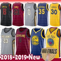 Wholesale quick state - 2018 Finals Bound Stephen Curry Kevin Durant LeBron James Jersey Golden State Warriors Green Klay Thompson CLEVELAND Love CAVALIERS