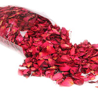 dried flowers supplies оптовых-Pick 30/50/100g Natural Dried Rose Petals Romantic Bath Dry Flower Petal Spa Whitening Shower Aromatherapy Bathing Supply