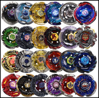 beyblade spielzeug großhandel-24 Designs Clash Metall 4D Beyblades Beyblade Burst Spinning Tops Jungen Kinder Spielzeug Beyblade Burst Party Favor CCA9918 12st