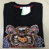pullover hoodies für frauen großhandel-Qualitäts-heiße Mann-Frauen Embroidere Tiger-Logopullover Trainingsanzüge Jumper-Jacke Frauen Hoodies Sweatshirts Größe S-XXL