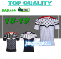 Wholesale heat jerseys - Top quality 2016 2017 Rugby Union Palestine black color soccer jersey high-temperature heat transfer printing jersey football shirts