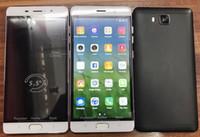 teléfono rosa de cuatro núcleos al por mayor-5.5Inch A2pre más barato teléfono MTk6580 Quad Core 512MB RAM 4GB ROM teléfono inteligente con negro oro rosa colores en la fábrica de valores directamente
