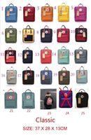 Wholesale Women Traveling Bags - Kanken backpack CLASSIC SIZE 16L rucksacks unisex canvas students shoulder bags handbags schoolbag girl boy traveling outdoor bags