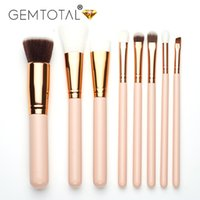 Wholesale best make up tools for sale - 8ps Best Professional Pretty Make Up Brushes eye brush Foundation Eyeshadow Powder Eyebrow Eyeliner Lip Makeup Brushes Cosmetic Beauty Tools