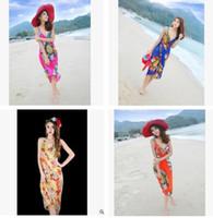 Wholesale towel outlets for sale - Bohemia Backless Dress Fashion Sling Beach Towel Factory Outlet Beach Dress Dress