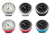Wholesale digital car dashboards for sale - Car Ornaments Luminous Auto Watch Clock Dashboard Decoration Vehicle Automotive Interior Decor Digital Pointer Clock Ornament