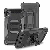 Wholesale apple 6s usa resale online - Case With Clip Belt For LG Q7 Plus Stylo K10 V30 Moto E5 Plus X4 USA Holster Shockproof Hybrid Hard PC TPU Cover Armor Holder Impact