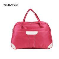 SWYIVY New Oxford Cloth Waterproof Gym Bag Men Travel Bags Women Luggage Travel  Duffle Bags Fitness Training Shoulder Sport Bag c8cc050c47