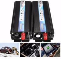 convertisseur de puissance auto achat en gros de-Voiture Auto Power 2000 Watt DC 24 V à AC 220 V Voiture Auto Power Inverter Chargeur Convertisseur Efficace BBA215