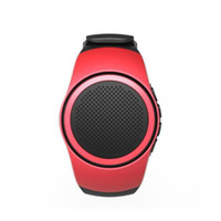 Wholesale music watch phone resale online - Top Quality ZZYD B20 Mini Bluetooth Speaker Bass Smart Watch Bluetooth Wireless Universal For Music Player With TF Card