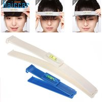 Wholesale Hair Fringe Styles - HAICAR Fashion Clipper Fringe Hair Cutting Level Guide For Layers Practical Styling Accessory Pretty Hair Clip High Quality 2pc