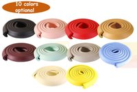 Wholesale baby edge protection - New Arrival Hot Soft Child Protection Corner Protector Baby Safety Guards Edge & Corner Guards Solid Angle Form Single Loaded