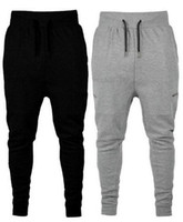 calças de treino de dança venda por atacado-Principais Mens populares famosos Casual treino soltas Harem Baggy Jogger Gym Fitness Pilates calças hip hop calças Quênia ocidental dança Sportswear