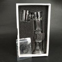 anexos dab venda por atacado-Acessório de vidro autêntico da recolocação G9 H enail G9 H enail mais vidro Bong da água para a pena seca da erva Dab da cera