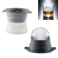 ingrosso stampo per la sfera di ghiaccio-2 pezzi Sphere Ice Molds Perfect 2