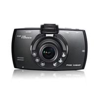 video dash car оптовых-Автомобильный видеорегистратор 2.7-дюймовый ЖК-дисплей FHD HD 1080p 170 градусов широкий угол приборной панели камеры видеомагнитофон Dash Cam ночного видения G-сенсор WDR петли записи