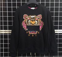 Wholesale clothing fashion designer online - New Brand Hoodies Sweatshirts Men Tiger Head Embroidery Eye Winter Women Hoodie With K to O Letters Designer Streetwear Jogger Tops Clothing