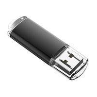 Wholesale memory sticks online - Black Rectangle GB USB Flash Drives Enough Memory Sticks gb Flash Pen Drive for PC Laptop Macbook Tablet Thumb Storage