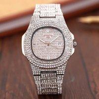 cristais de quartzo livres venda por atacado-3A Nova Famoso Luxo diamante de cristal Dial pulseira de pulso de quartzo moda presente Ladies Mulheres Ouro Rose Gold Silver Atacado grátis Shipping