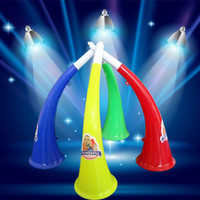 Wholesale trumpet speaker - Cheer Noise Maker Horns Football Festival Party Festival Prop Fan Speaker Children Kids Trumpet Toys HH7-976