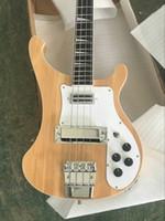 vente de palissandre achat en gros de-Vente chaude Brand New Top Qualité Usine Super Rick 4003 Natural double entrée 4 Cordes Guitare Basse Électrique livraison gratuite