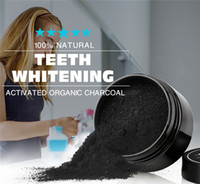 Wholesale Shell Carbon - 2018 charcoal tooth powder 30 grams color box packaging black activated carbon powder coconut shell cleaning powder Teeth Whitening 0213031