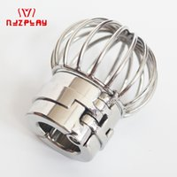 Wholesale heavy steel cock rings for sale - Group buy Stealth Lock Stainless Steel Heavy Scrotum Pendant Ball Stretchers Scrotum Testicle Chastity Lock Cock Ring Penis Ring