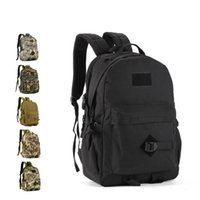 Wholesale waterproof backpack camouflage - 40L Army Tactical Backpackes Large capacity Outdoor Travel Leisure Climbing Hiking Waterproof Student Backpack
