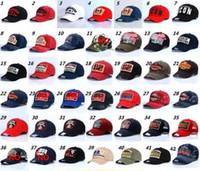 beisebol dos estados unidos venda por atacado-Europa e nos Estados Unidos populares bonés de beisebol 100% algodão verão dos homens ao ar livre chapéus chapéus de sol 40