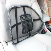 Wholesale Car Seat Cushion Back Support - Comfortable Mesh Lumbar Back Support Cushion Waist Support Orthopedic Pillow Massager Back Pain Relief Seat Cushion for Home Car Office