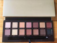 lidschatten hochwertig großhandel-Top Qualität! Make-up Renaissance Rosa Lidschatten-Palette 14 Farben Lidschatten Begrenzte Kit mit Bürsten-DHL-freies Verschiffen