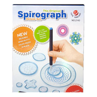 Wholesale novelty for sale - 22pcs Spirograph Drawing toys set Interlocking Gears Wheels Drawing Accessories Creative Educational Novelty Toy For kids toys